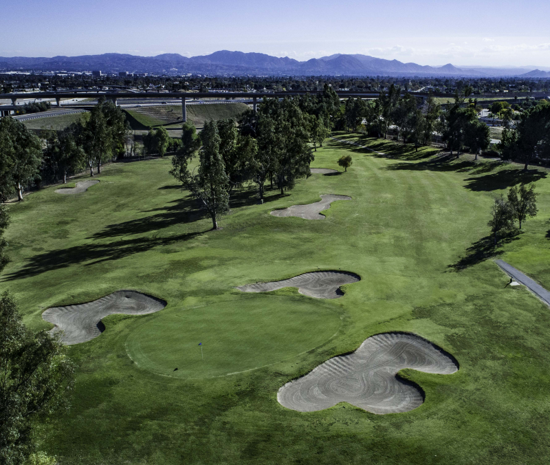 Shandin Hills Golf Course Aerial View